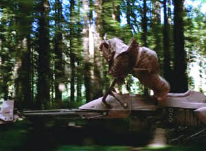 Star Wars Episode 6: Ewok on a Speeder Bike